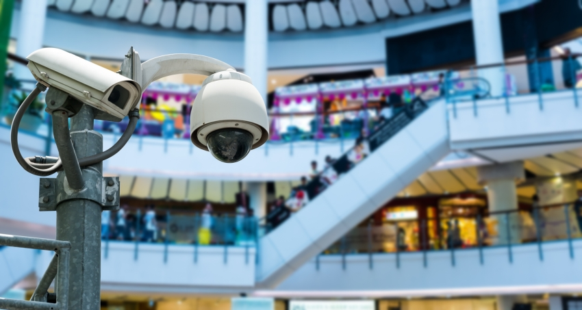 Видео в торговых центрах
